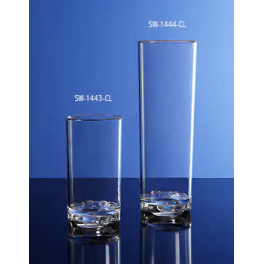 Clear Plastic Glass  12oz