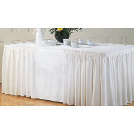 Table Skirting Shirred