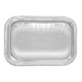 Embosses Buffet Tray  Oblong