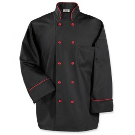 Fashion Piping Chef Coat